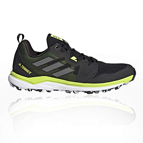 adidas Terrex Agravic, Zapatillas de Trail Running Hombre, NEGBÁS/Gricua/Amasol, 42 2/3 EU