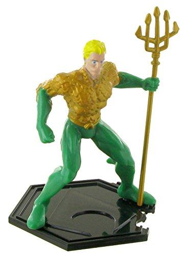 Figuras de la liga de la justicia – Figura Aquaman - 9 cm - DC comics - Justice league - liga de la justicia (Comansi Y99198)