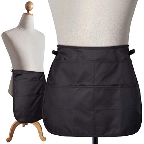 """SupplyMaid Professional Cleaning Apron & Tool Belt, Used by 1000s of House Cleaners, Hotels, Casinos and more. """"Like a Cleaning Caddy Around Your Waist"""" - Speeds Up Cleaning, Saves Time & Money"""