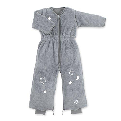 Bemini Magic Bag slaapzak met mouwen – collectie Stary sterren donkergrijs – 9/24 maanden – 85 cm – Softy – jaargetijde winter