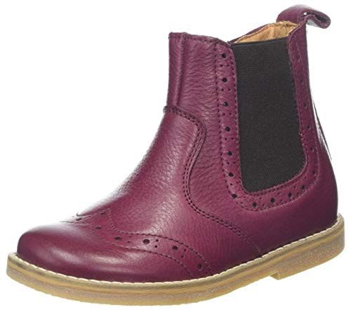 Froddo Mädchen G3160100 Chelsea Boots, Rot (Bordeaux I28), 33 EU