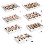 Immagine 1 songmics scatola portagioielli a 8