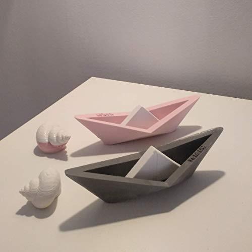 12 anpassbare Segelboote im Origami-Stil, Yumilab, kleines Boot, Segelboot, Segelschiff, Meeresgeschenk