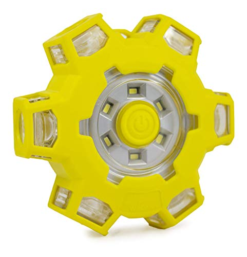 Michelin ML410 Visibility LED Road Flare Emergency Light Yellow