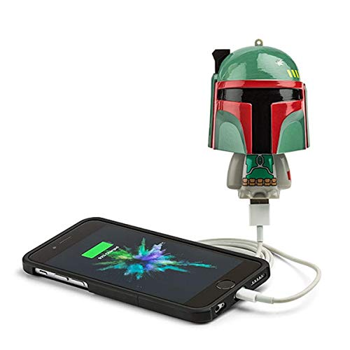 ThinkGeek Star Wars Mighty Minis Boba Fett Portable Charger