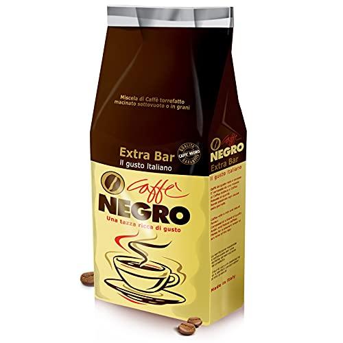 Miscela di Caffè Torrefatto in Grani. Made in Tuscany. Caffè Fiorentino. Gusto Extra Bar, Miscela Oro dal Sapore Italiano. Intensità 9. Chicchi di Caffè Tostati, Confezione da 1Kg (1000g)