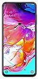 Samsung Galaxy A70 128GB/6GB SM-A705MN/DS 6.7' HD+ Infinity-U 4G/LTE Factory Unlocked Smartphone (International Version, No Warranty) (Black) (Renewed)
