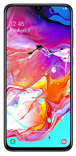 Samsung Galaxy A70 SM-A705FN/DS (Black), International Model GSM Unlocked Model, No Warranty