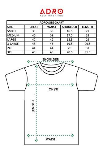ADRO Believe in Yourself Printed Hoodie/Sweatshirt for Men & Women (Black; 2XL)