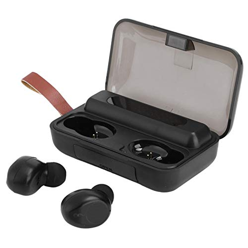 FOLOSAFENAR Auriculares con Control Inteligente Auriculares Bluetooth 5.0 Bajo Consumo de energía, para teléfono móvil, para Deportes