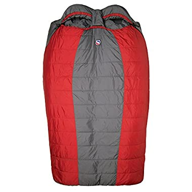 Big Agnes Big Creek 30 Double Wide Sleeping Bag Red One Size