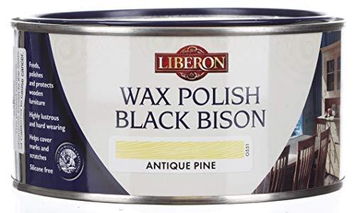 Liberon bbpwap500 500 ml cire polonais Bison Pin antique – Noir