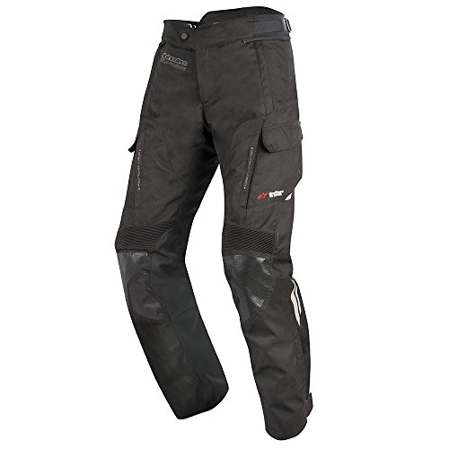 Alpinestars Motorradhose Andes V2 DryStar Pants, Schwarz, 3XL Kurz