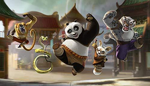 Zheng Adultos Puzzle 1000 Piezas Puzzles Kung Fu Panda-Amigos Que Saltan - Puzzle Regalos Para Personas Mayores Juegos De Rompecabezas Para La Damilia Decoración Del Hogar 50X70 Cm
