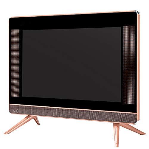CHARON TV LED con Audio, TV LCD pequeño de 15-24 Pulgadas, Equipado con configuración de Interfaz Multi-Interfaz VGA USB HDMI con Cable HDMI,19inch