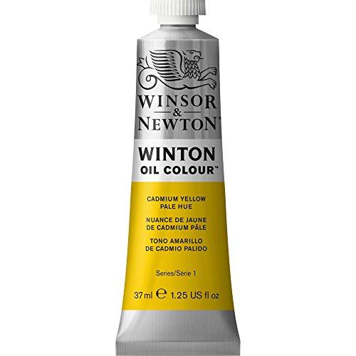 Winsor & Newton Winton - Tubo óleo, 37 ml, tono amarillo de cadmio pálido