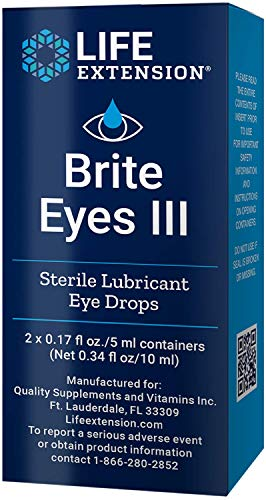Price comparison product image Life Extension Brite Eyes III,  2 Tubes,  5 ML Each
