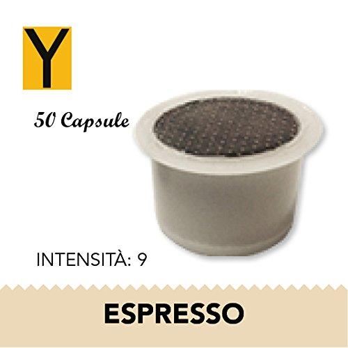 Yespresso Capsule Fior Lui Espresso - Confezione da 50 Pezzi