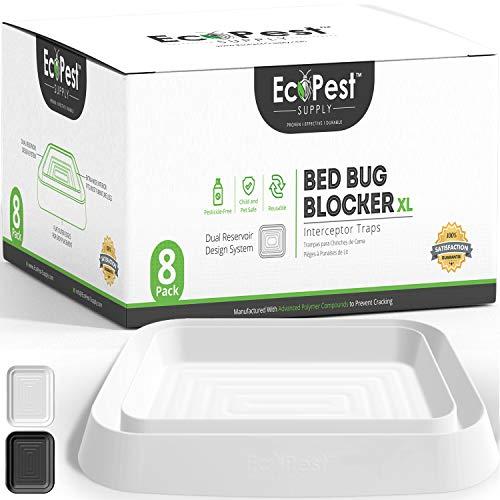 ECOPEST Trappole per Cimici dei Letti – Confezione da 8   Trappole Intercettatori Bed Bug Blocker...