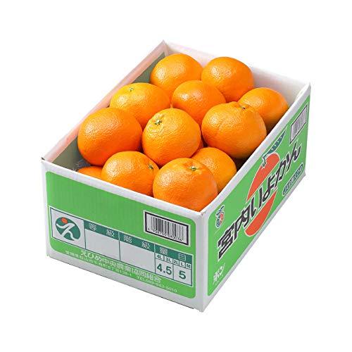 みかん 宮内伊予甘 優品 4L~3Lサイズ 4.5kg JAえひめ中央 中島産 ミカン 蜜柑 いよかん
