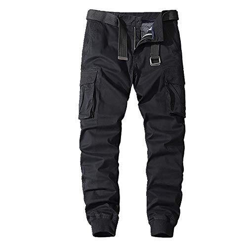 N\P Casual Pantalones De Los Hombres De Otoño Monos Con Legged Pantalones De Deportes De Los Hombres De Algodón Pantalones