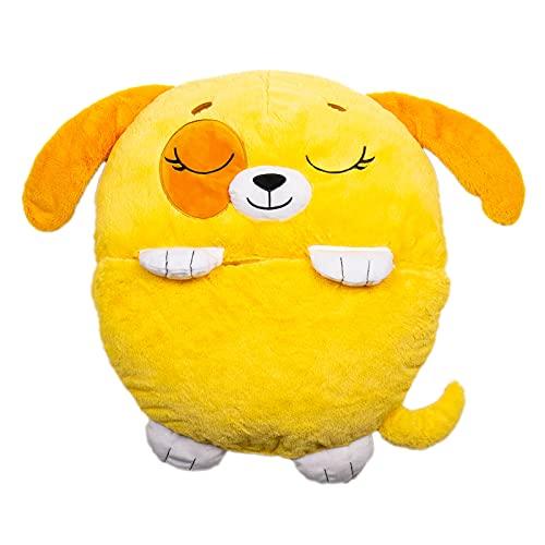 Dormi Locos- Perro, Color Amarillo (Concentra 506156)