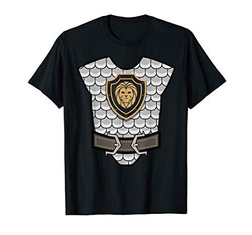Medieval Knight Costume Shirt - Halloween Armor Shirt