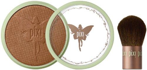 Pixi Beauty Bronzer + Kabuki - Summertime - 0.36 oz