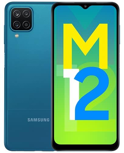 Samsung Galaxy M12 (Blue,4GB RAM, 64GB Storage) 6000 mAh...