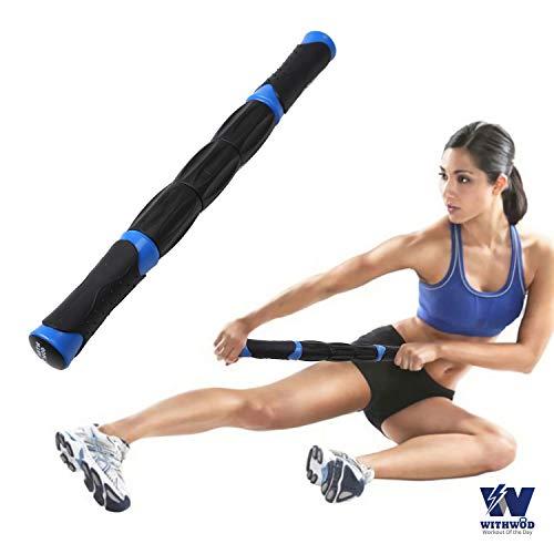WITHWOD 5-in-1 Muscle Massage SetFoam RollerYoga Stretch Bandetc. kit