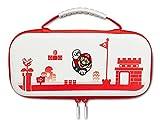 Power A 1519187-01 Estuche protector para Nintendo Switch o Nintendo Switch Lite: Mario Rojo/Blanco, funda protectora, funda para juegos, funda para consola