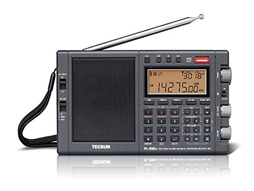 Tecsun PL-990X Weltempfänger mit Bluetooth
