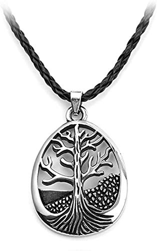 AKDLKXTS Necklaces Pendants Leaf Pendant for Women and Men Long Necklace Jewelry Accessories