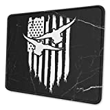 American Flag Duck Drake Hunting Mouse Pad Computer Mouse Pad Multi Size Mouse Pad Non Slip Rubber Mouse Pad