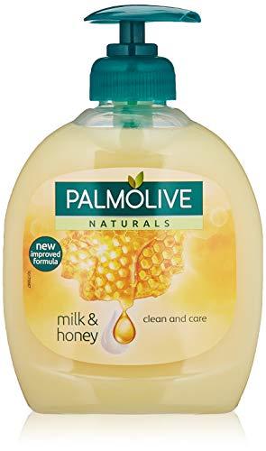 PALMOLIVE jabón líquido de manos leche y miel dosificador 300 ml