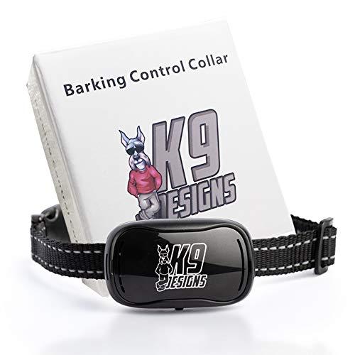 K9 Designs Vibrating Anti Bark Collar for Dogs - No Cruel Shock - Deterrent...