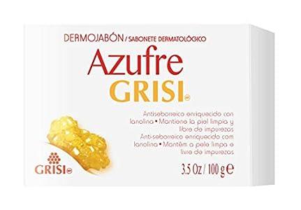 GRISI DERMOJABON AZUFRE ACNE 100 GR