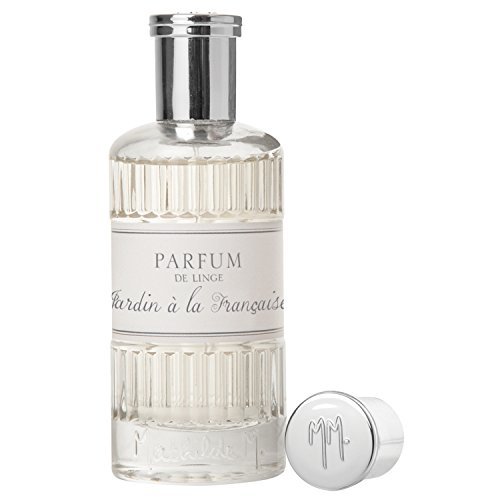 Vaporisateur Parfum de Linge 75ml Mathilde M - Spray Chambre Oreiller Lit Textile (Jardin à la Française)
