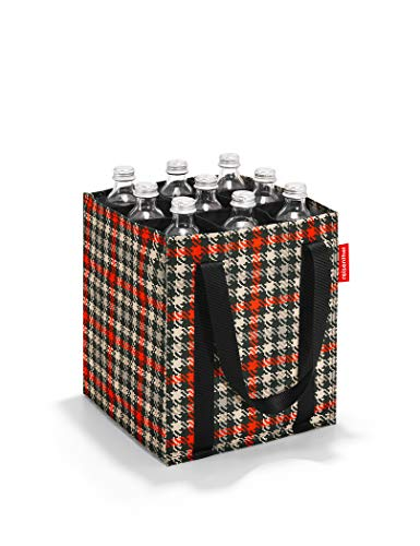 Reisenthel Bottlebag Sporttasche, 28 cm, 6 Liter, Glencheck Red