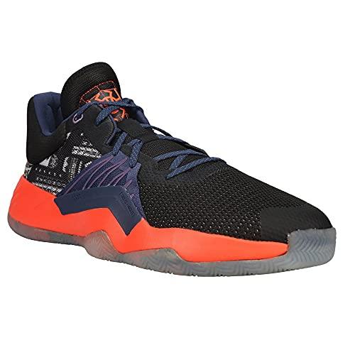 adidas Men's Don Issue 1 GCA Basketball CoreBlack/TechIndigo/TechPurple 11.5
