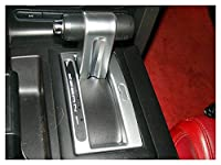 GGWW カースタイリング自動シフタートリム盲飾フレームステッカーケースフィットFord Mustang 2005-2009