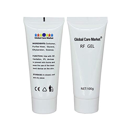 RF GEL (2 Pack) – Skin Cooling and Lubrication Gel for Use with Radiofrequency Treatment Devices [Special 2-Bottle Package]