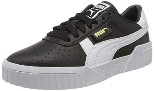PUMA Cali Wn's, Zapatillas para Mujer, Negro Black White, 40.5 EU