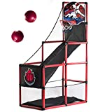 Arcade Basketball Hoop Game by BestKidBall – Basement Toys – Basketball Hoop for Kids – Basketball Game with Hoop Training System – Kids Indoor Sports Toys – Fun and Entertaining