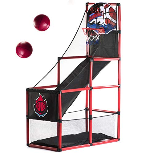 Arcade Basketball Hoop Game by BestKidBall – Basement Toys – Basketball Hoop...
