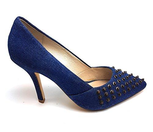 Diesel Damen Pumps Schuhe PICARESQUE Atomic Blondie - Y00903 PR851 Farbe: Indigo (T6067) Women Shoes Gr.: 37 EU / 7 US / 24 JPN