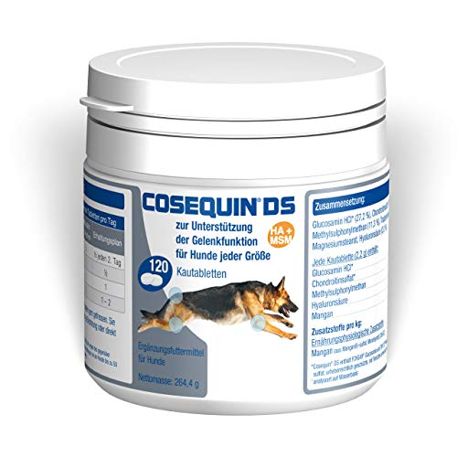 Ecuphar Cosequin DS HA+MSM 120 Kautabl. für Hunde