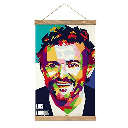 Lienzo de alto grado para colgar una imagen, Luis Enrique-mG48, mural de...
