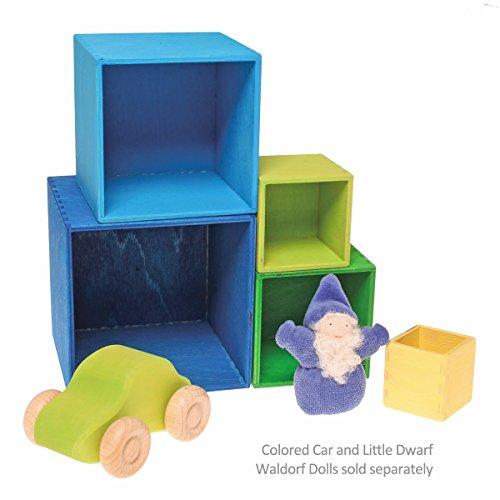 Grimm's kleiner Kistensatz bunt aussen blau - 3