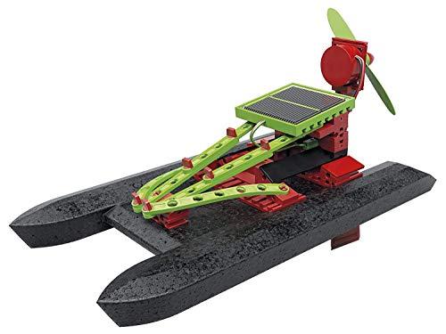 fischertechnik Solar Power - Solar Spielzeug zum Thema Nachhaltigkeit für Kinder ab 8 Jahre -...